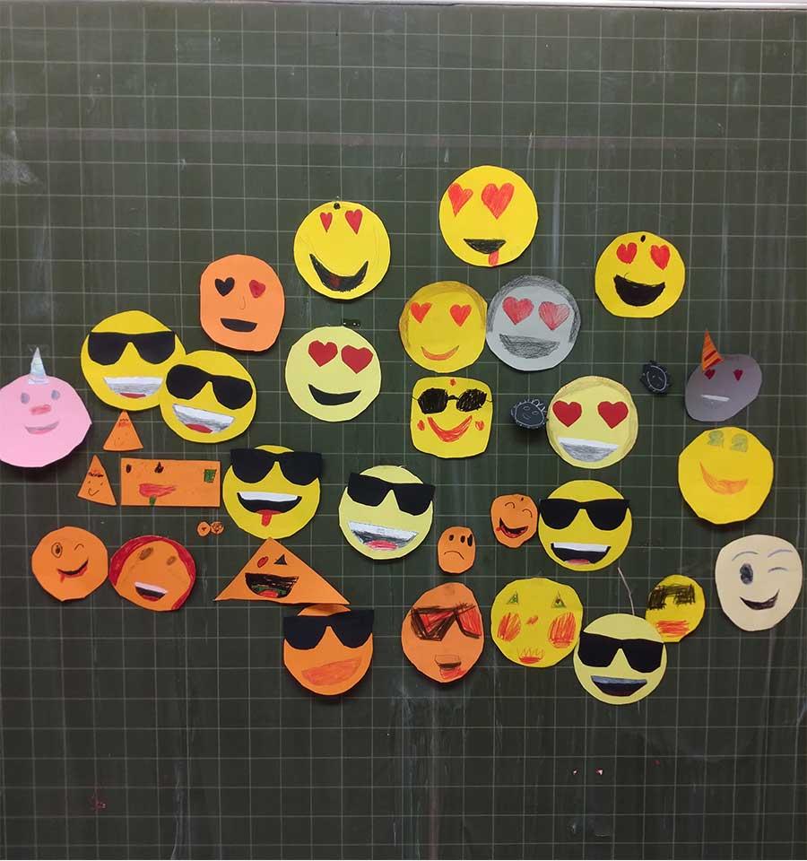 Gebastelte Emojis