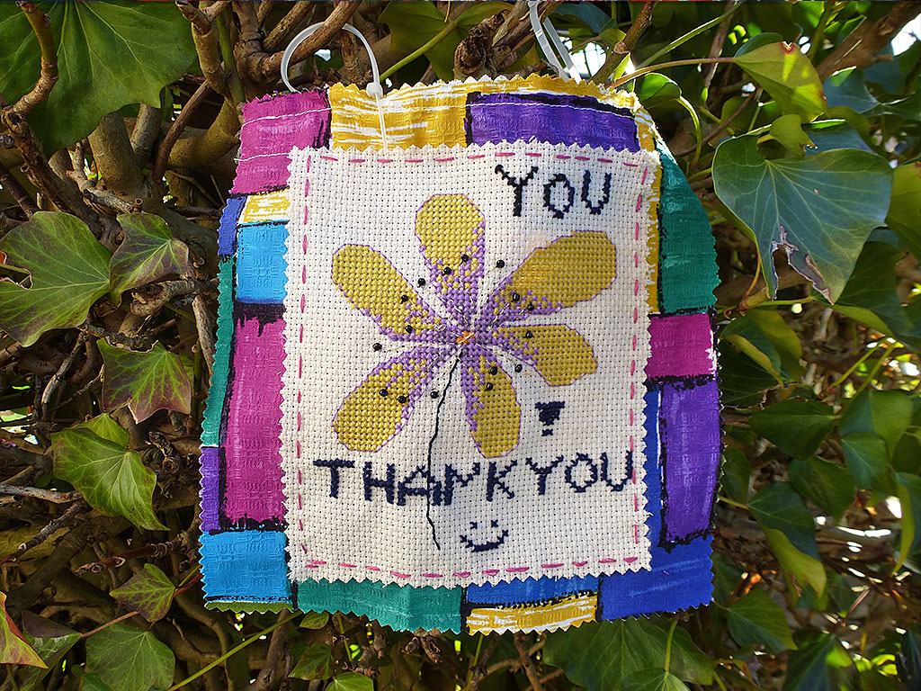 Monika Modersitzki Mini-Banner: Danke